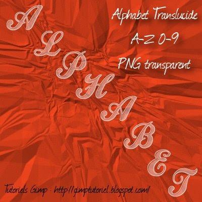 scrapbooking alphabet verre translucide transparent