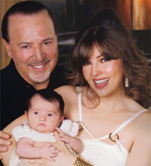 Thalia's baby girl: Sa...