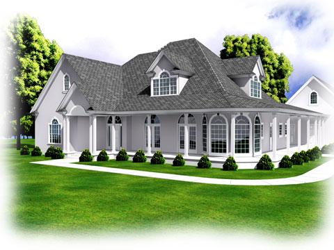 3d home design plan modern home minimalist minimalist for Dream house 3d