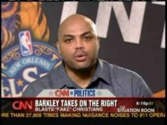 Charles Barkley spews moronic comments on CNN