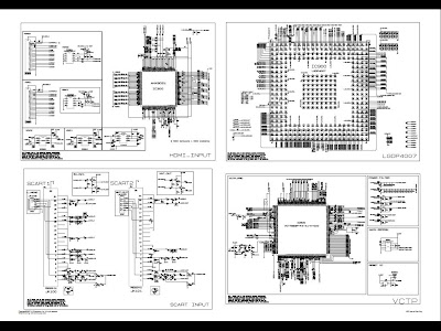 SCHEMATIC DIAGRAM: LG plasma TV 32pc51 circuit diagram