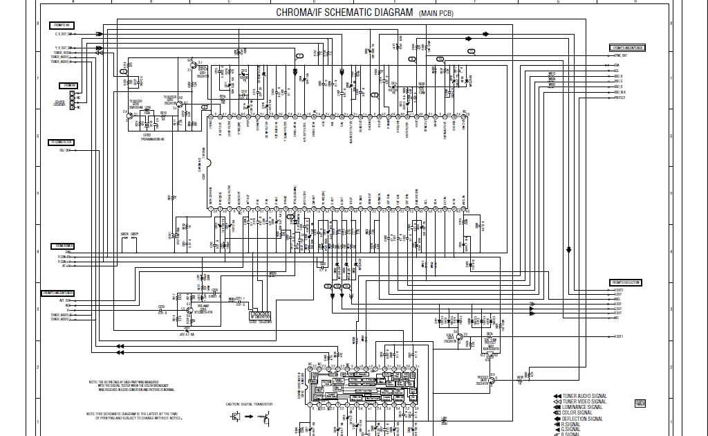SCHEMATIC DIAGRAM: CHROMA-IF SCHEMATIC DIAGRAM TB1253N