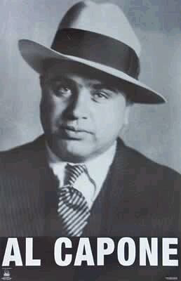 """al capone and organized crime in Al capone gun on display at mob museum  in bringing down the titans of organized crime back in the prohibition and post-prohibition eras,"""" ullman said at the ."""