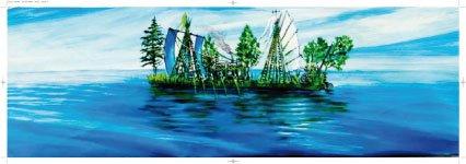 Schilderij De Oceaan
