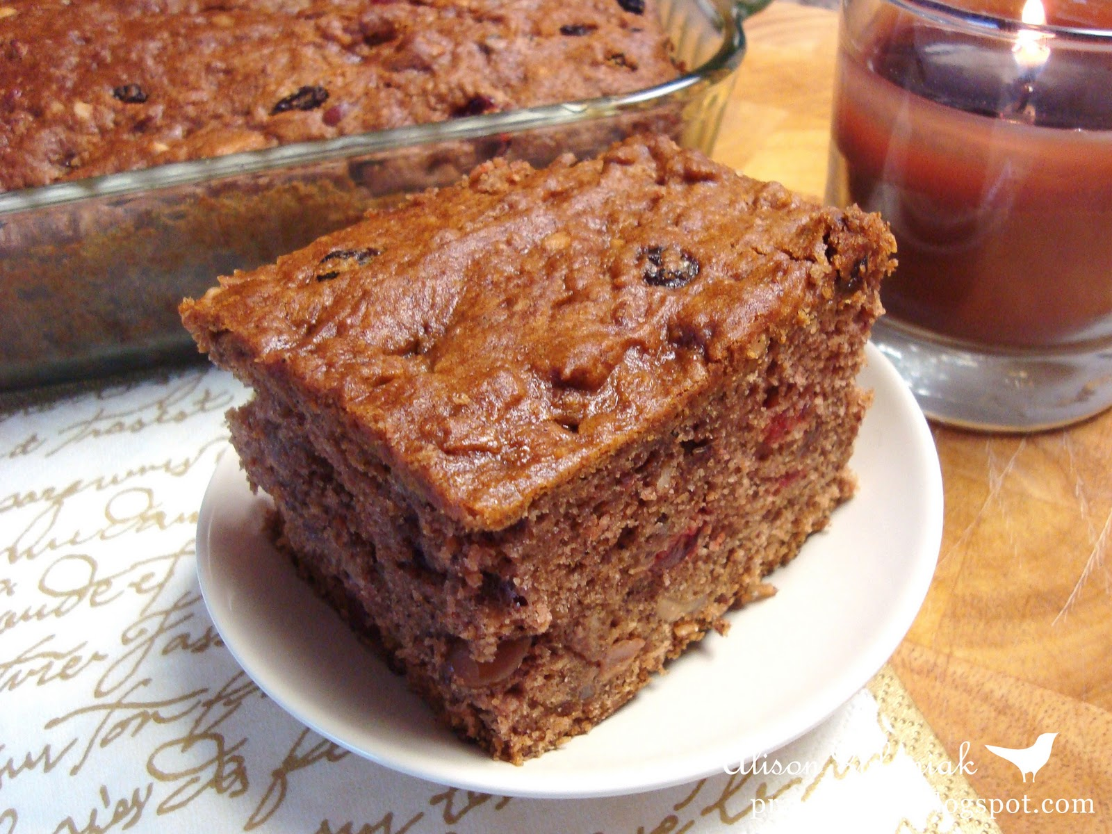 Old Fashioned Apple Spice Cake Recipe
