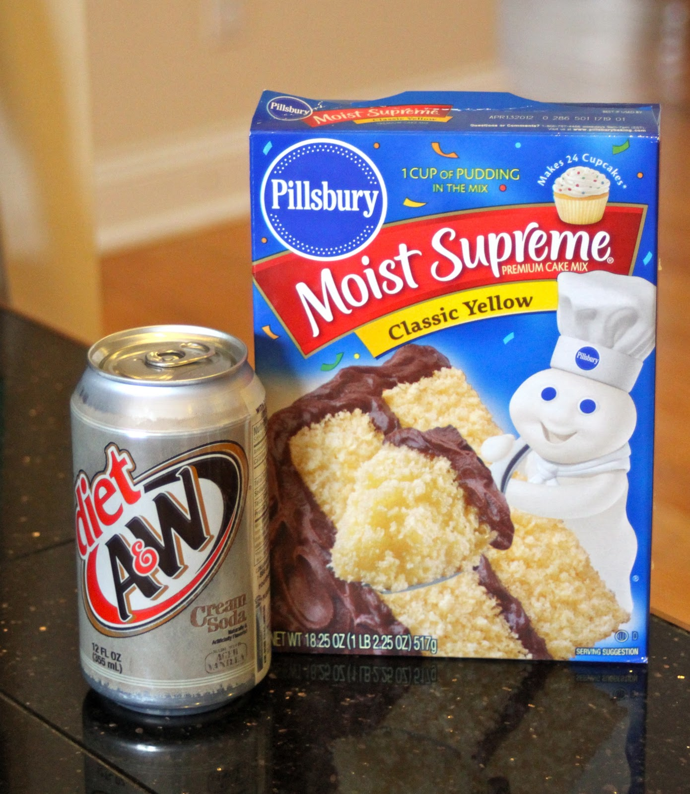 Diet Soda And Cake Mix Calories