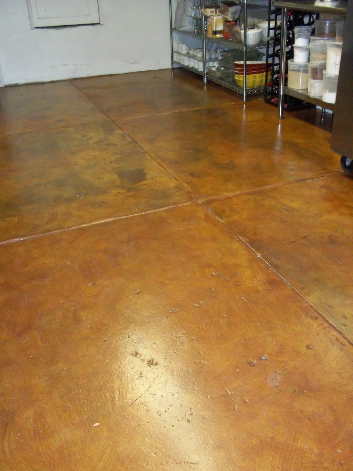 Kitchen Floor Stains Between Tiles