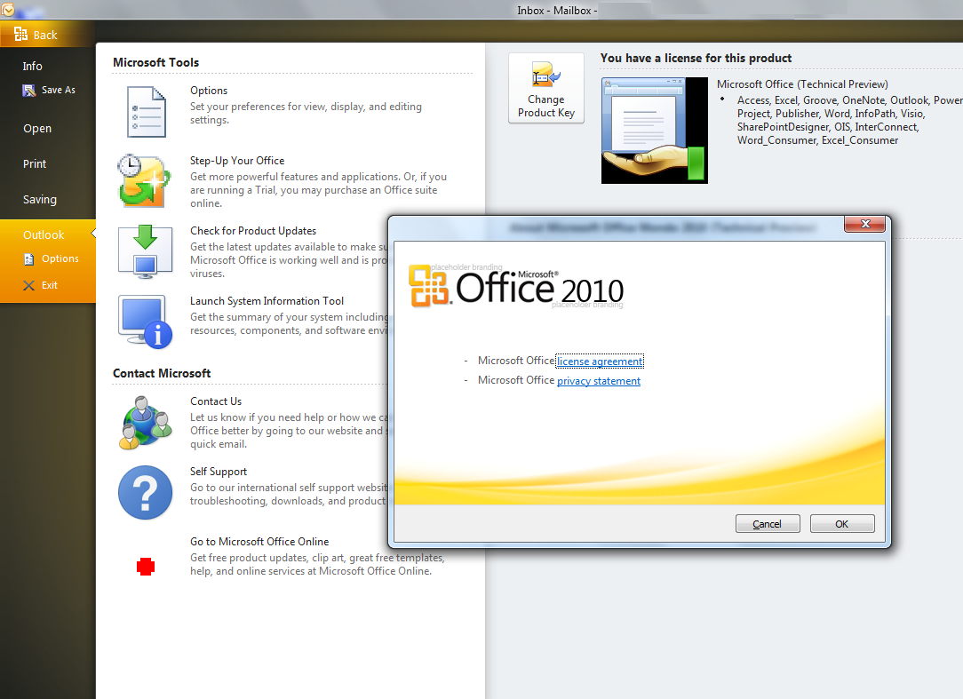 Microsoft Office Outlook 2010