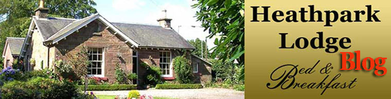 Blairgowrie, Perthshire, luxury Bed and Breakfast/guesthouse information