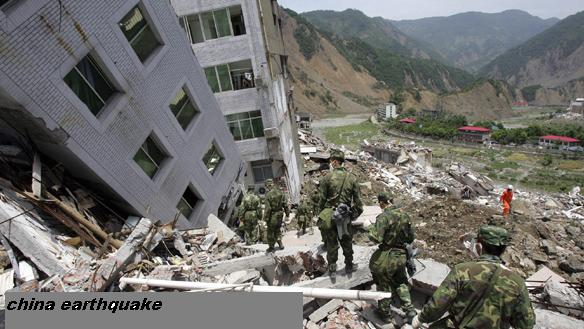 NATURAL DISASTER: MAJOR EARTHQUAKE,FLOODS IN CHINA HISTORY
