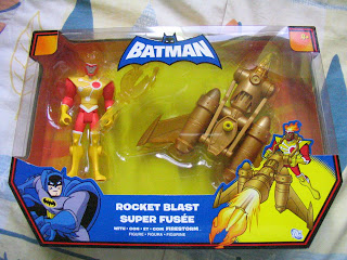 DC Universe Batman Brave and Bold Firestorm Rocket Blast Plastic Man Green Arrow JLU Justice League