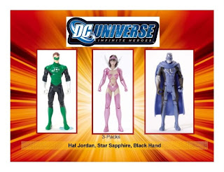 DC DC Universe Infinite Heroes Hal Jordan Star Sapphire Parallax Green Lantern John Stewart Harbinger Shadow Demons Nightwing Renegade Robin Batman Animal Man Adam Strange Starfire Bat Woman Sinestro Corps