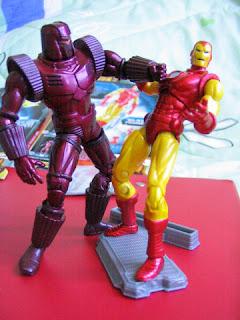 Marvel Universe Iron Man 2 movie Tony Stark Crimson Dynamo