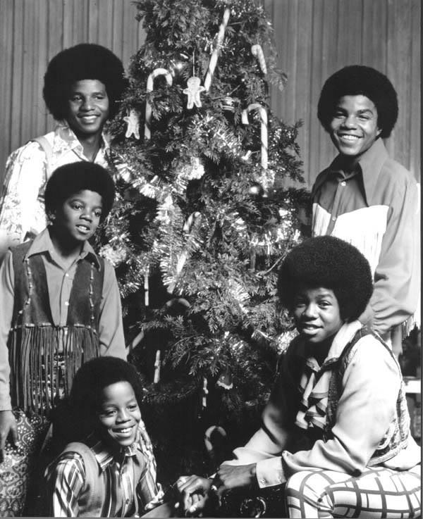 Jackson 5 Christmas.J5 Collector A J5 Christmas Portrait