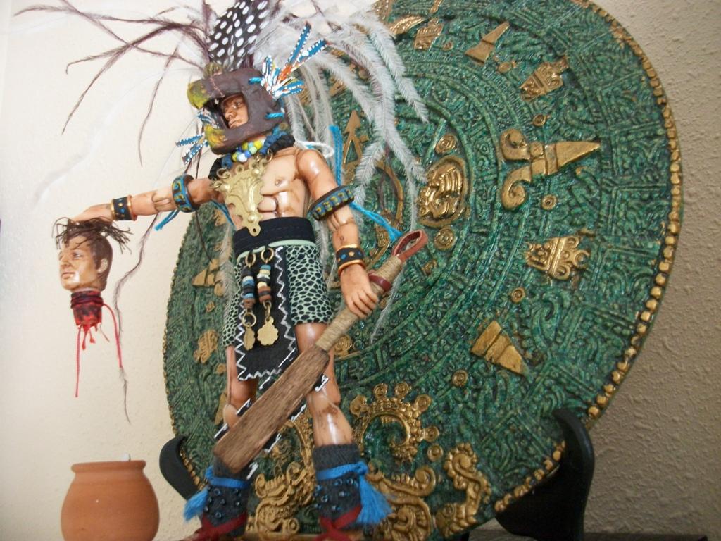 Fotos De Aztecas Ropa Munecos