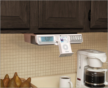 Ihome Ih36 Under Cabinet Kitchen System For Ipod
