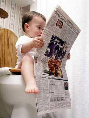 The economy is looking like its going to rebound from the toilet!