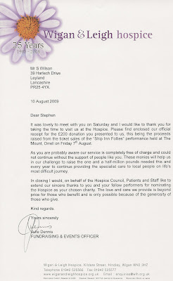 letter about party follies 6839