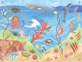 Ocean décor wall banner