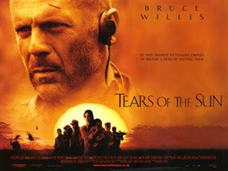 Tears of the Sun, The only thing necessary for the triumph of evil is for good men to do nothing