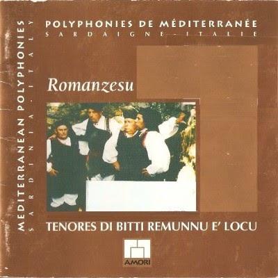 Italian folk music: Tenores Di Bitti Remunnu E' Locu ::: Romanzesu