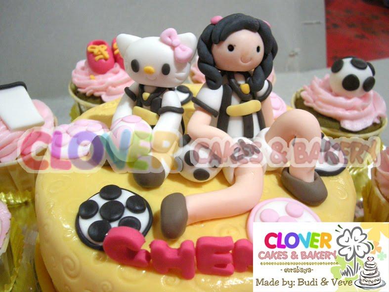 Clover Daily Hello Kitty Soccer Juventus Season Cake