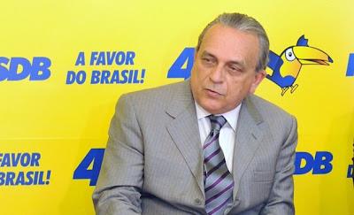 0ecb7395d4a4a Em reunião da Executiva Nacional do partido realizada nesta terça-feira,  dia 11, o presidente Sérgio Guerra comunicou que a partir desta  quarta-feira, ...