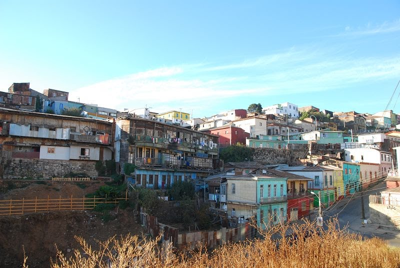 夢迴南美: 美麗山城Valpariso