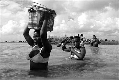 Rio Pungué, Moçambique, 2008