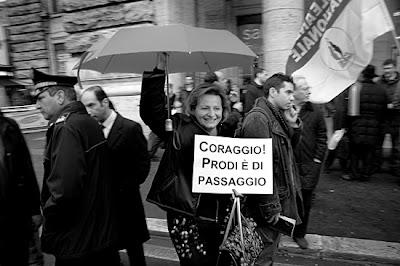 Roma, queda do governo Prodi