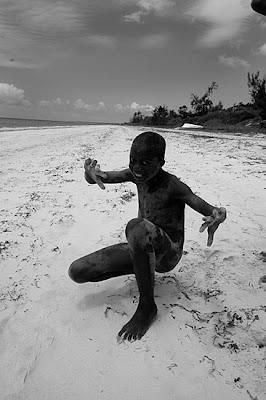 Filho de pescador de Inhamsoro