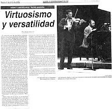 Virtuososmo y Versatilidad