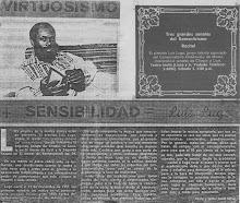 Virtuosismo+Sensibilidad:Luis Lugo