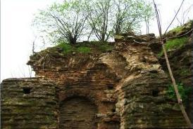 Samandıra'daki Tekfur Sarayı yok olmak üzere