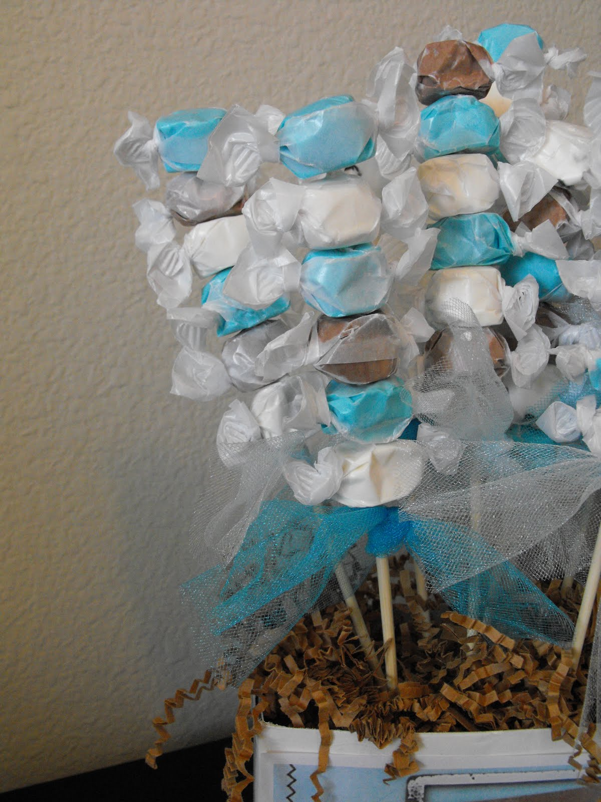 Shop for blue photo frames, elegant place card holders, glitter tea light holders, and other baby shower favors for boys.