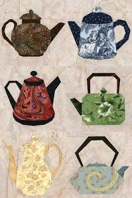 Teapot Quilts Patterns Free Quilt Pattern