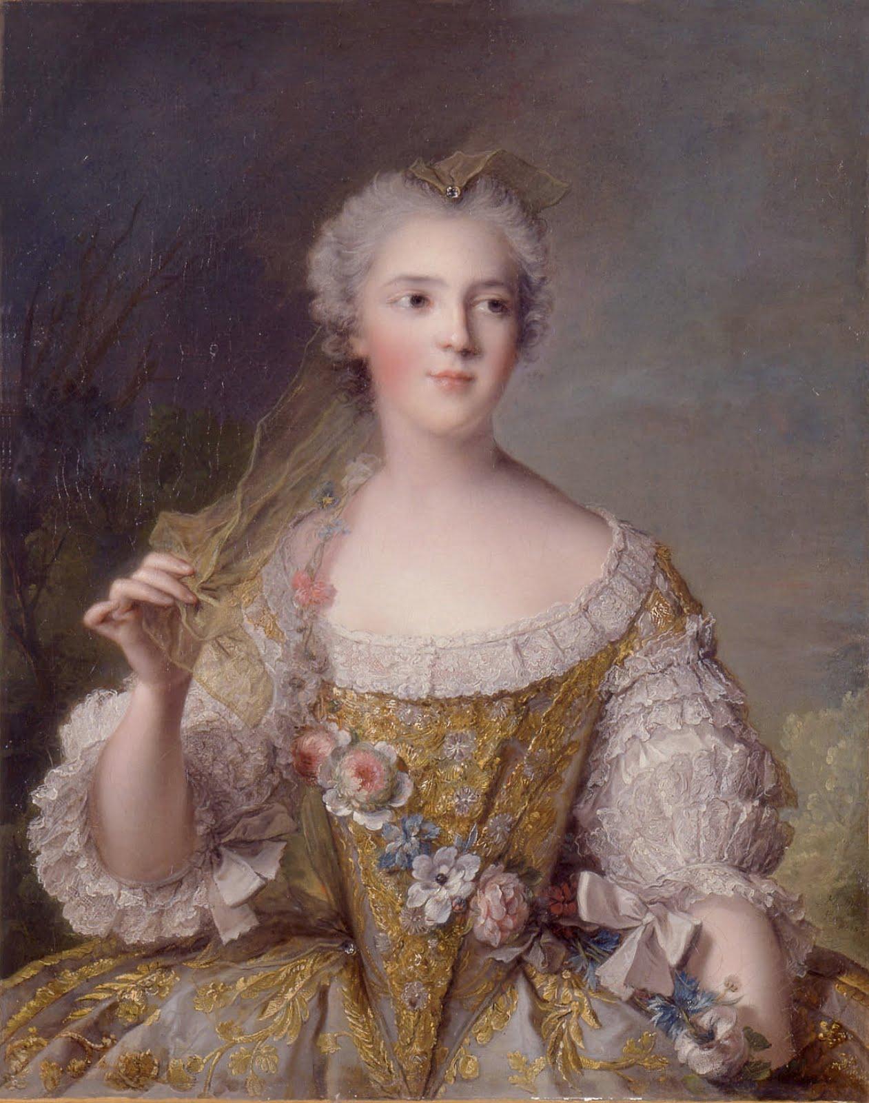 18th century women theater makeup 18th century women