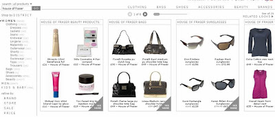 House of Fraser Product Feed Example with ShopStyle