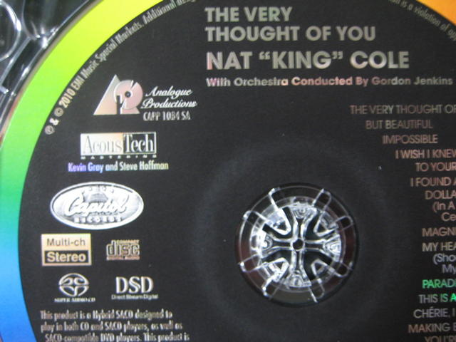 The 'Nat King Cole SACD Project' Launch Center | Pure Super