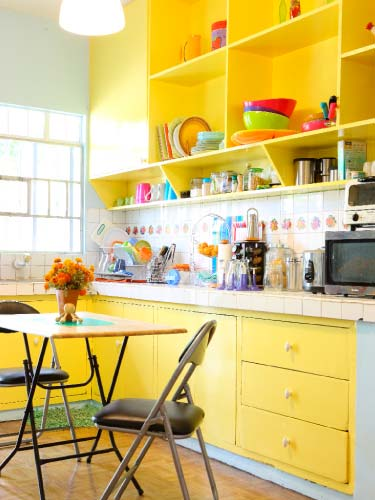 Yellow Kitchen: Cabinets For Kitchen: Yellow Kitchen Cabinets