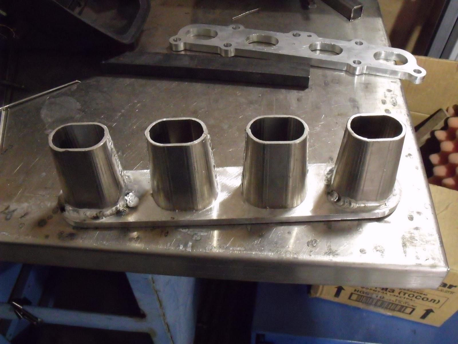 Coppertop Autosports Intake Manifold Fabrication