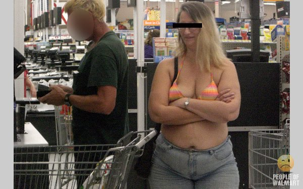05 wal mart booty in tight dress - 1 7