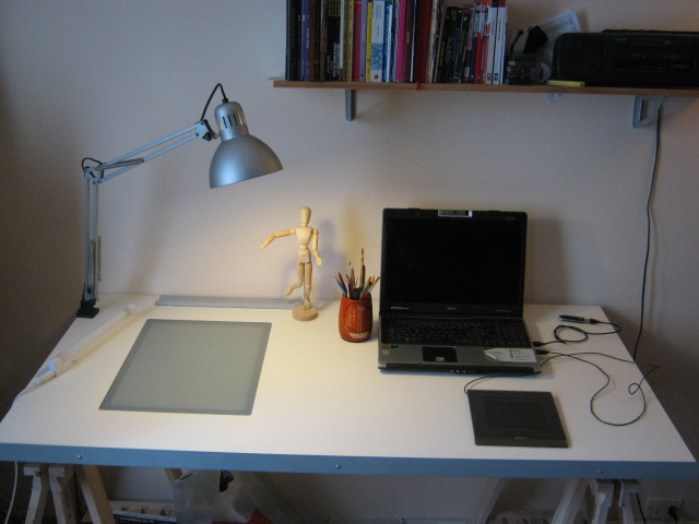 Scrivania Inclinabile Ikea.Vika Blecket