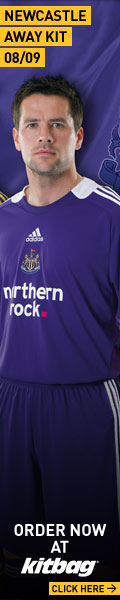 Newcastle Away Kit 08-09