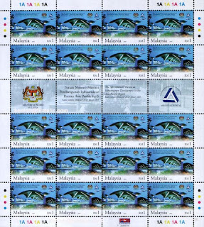 Infrastucture Development RM1 Stamp Sheet