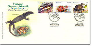 Semi Aquatic Animals First Day Cover