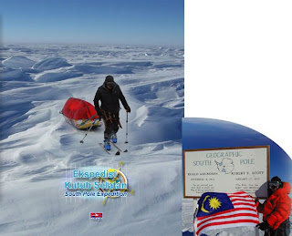 South Pole Expedition Folder