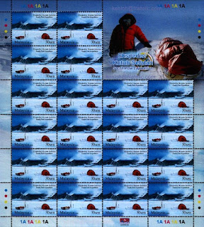 South Pole Expedition 30c Stamps Sheet
