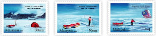 South Pole Expedition Stamps