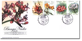 Rare Flowers First Day Cover